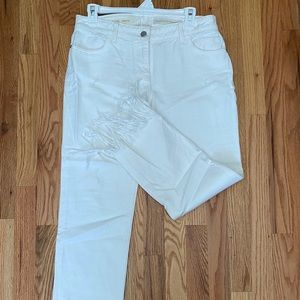 White pilcro and the letterpress jeans